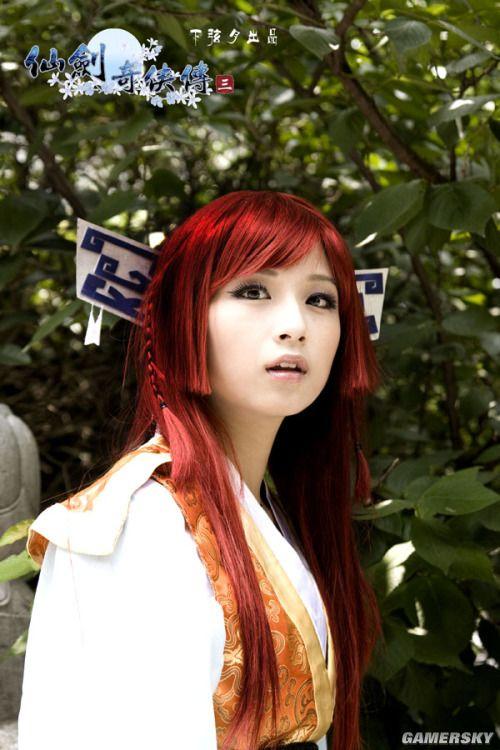 《仙剑奇侠传3》第一女主角唐雪见COS