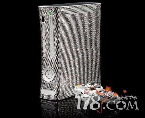 万颗施华洛世奇水晶打造奢华Xbox360