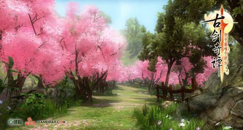 3d角色扮演游戏《古剑奇谭》暑期发布