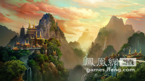窥一斑而知全貌,高山仰止,玉宇宫殿,我们在恍如仙境中,穿越十三世纪的图片
