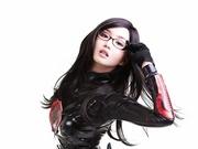 菲律宾宅男女神最新Cos 危险的黑色诱惑