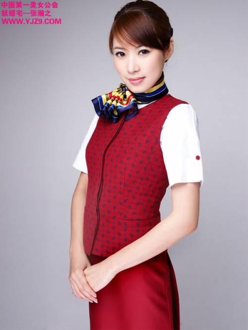 张瀚之_中国第一美女空姐 张瀚之加入妖姬宅_游戏频道_凤凰网