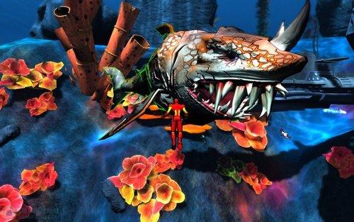 网络游戏中的海底世界 未来网游的新方向