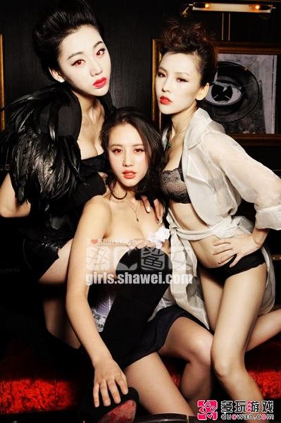 性感吸血鬼 第一曲线美女金美辛万圣节写真