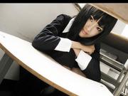 完美大小姐可爱黑衣COSPLAY