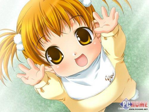 可爱天使小孩儿头像